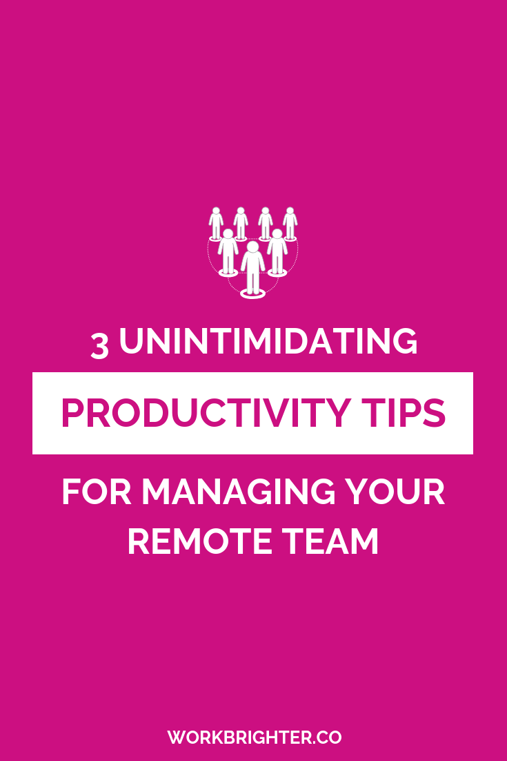 3 Basic Productivity Tips for Leading a Remote Team - Running an online biz can feel like your business is always bleeding over into your personal stuff. Keeping track of tons of juggling balls in the air and all the awesome goals you want to achieve can actually mess you up. Eventually, trying to plan too much can make your plans fail. To learn more about how to actually get things done with your whole remote team, make sure toplan strategically.