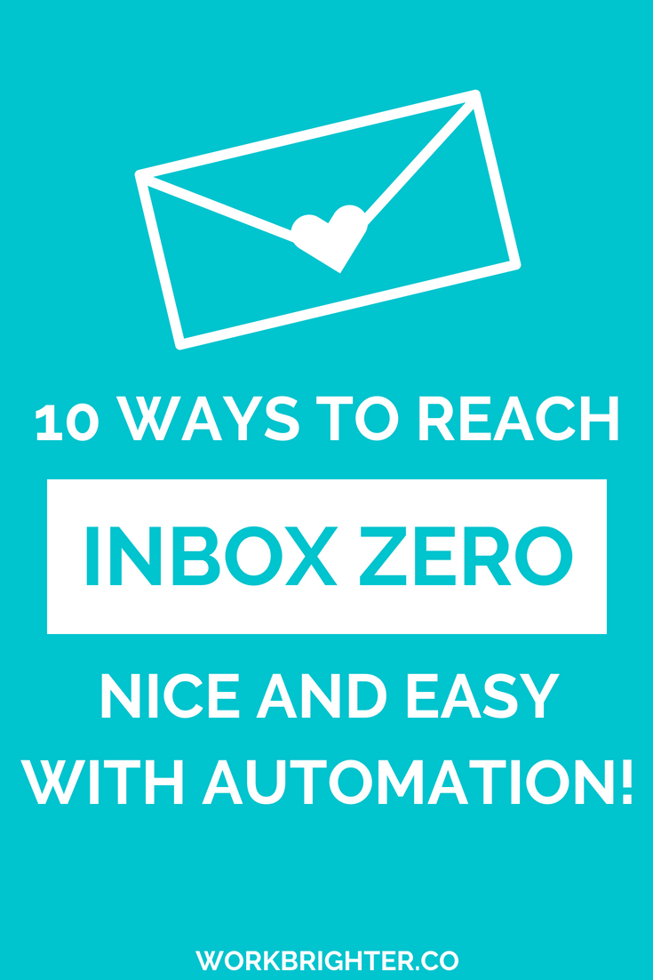 10 Ways to Reach Inbox Zero Nice and Easy With Automation