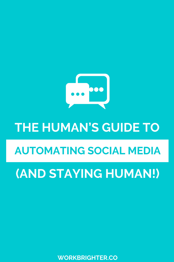 The Human's Guide to Using Social Media Automation and Staying Human