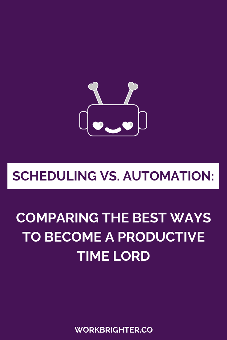 Scheduling vs Workflow Automation - Comparing the Best Ways to Become a Productive Time Lord (1)