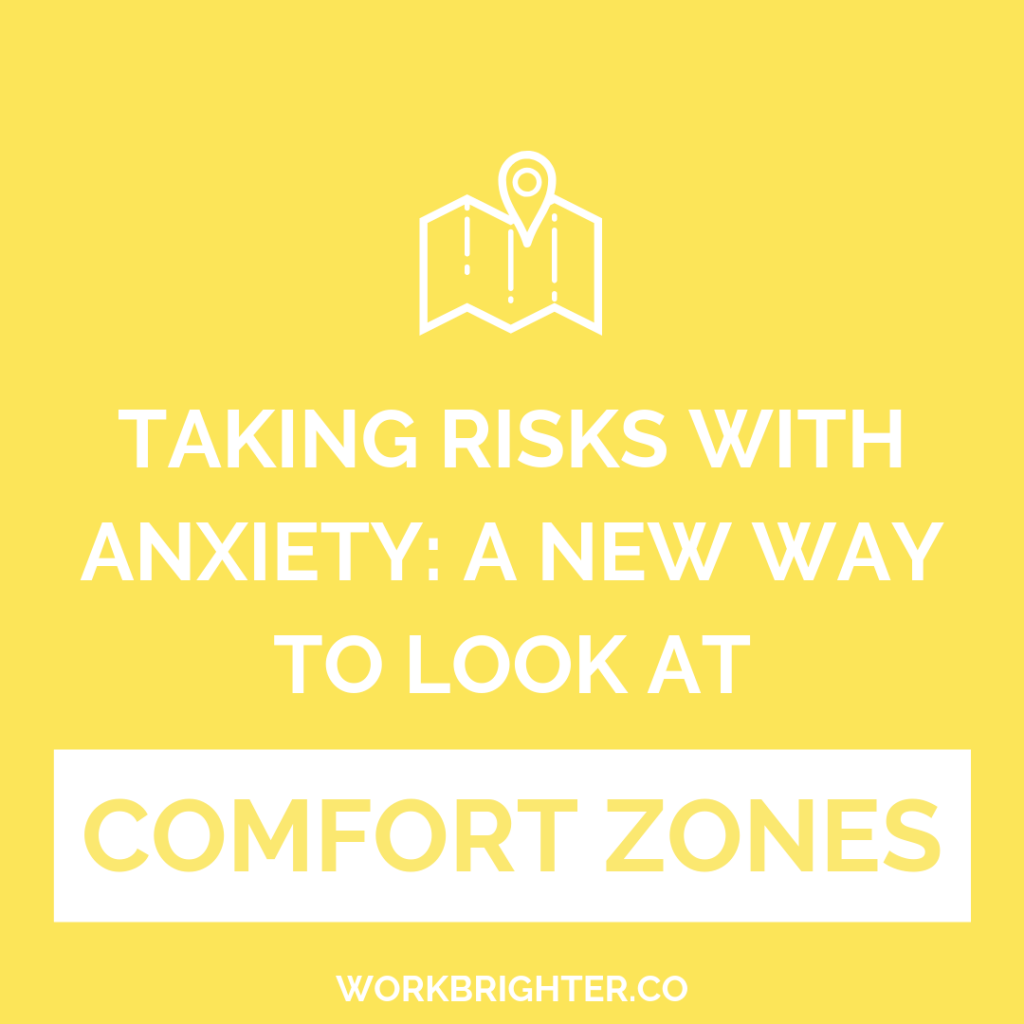 A new way to look at comfort zones