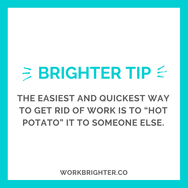 BRIGHTER TIME MANAGEMENT TIP_ Outsourcing Work to Someone Else