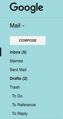 Gmail Action Labeling System