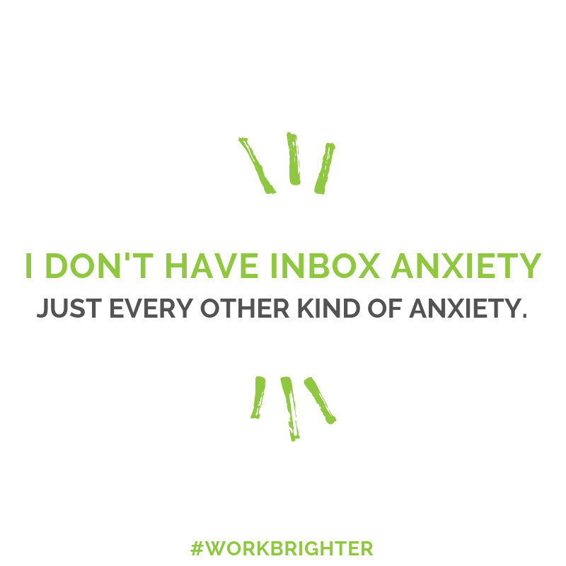 inbox anxiety quote