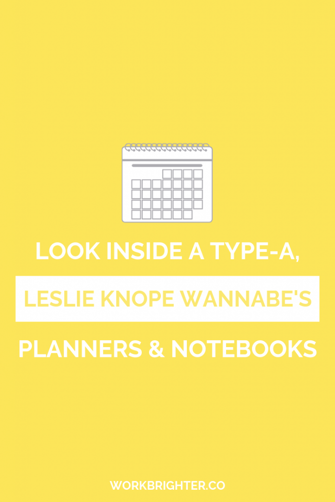 Look Inside a Type A Leslie Knope Wannabe's Notebook Organization System