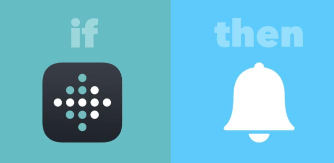 IFTTT fitbit notification