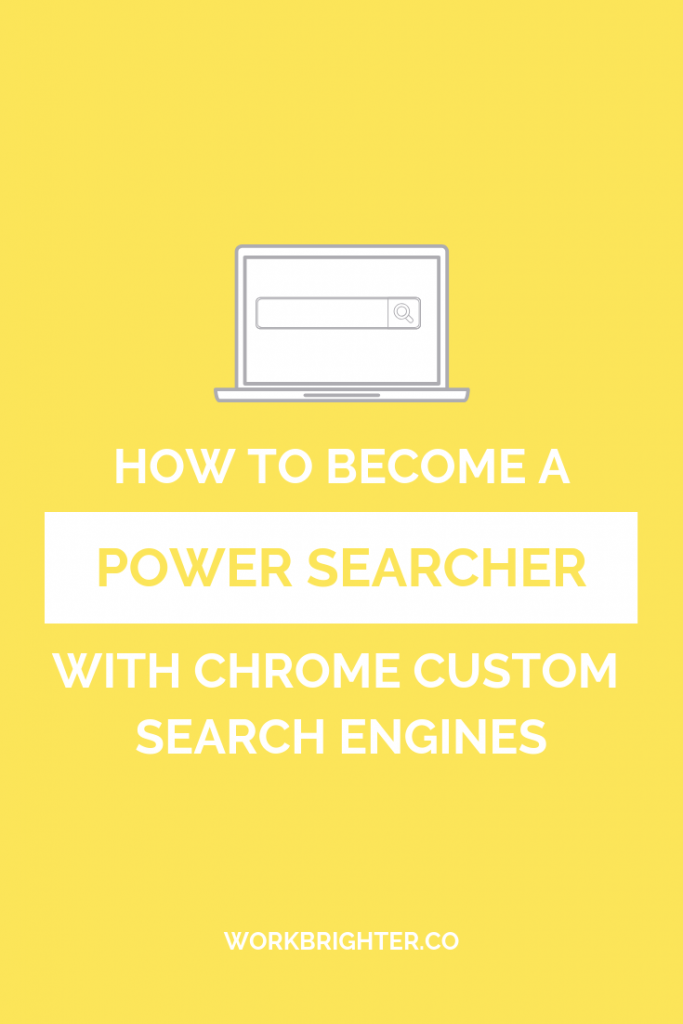 How to Become a Power Searcher Using Chrome Custom Search Engines