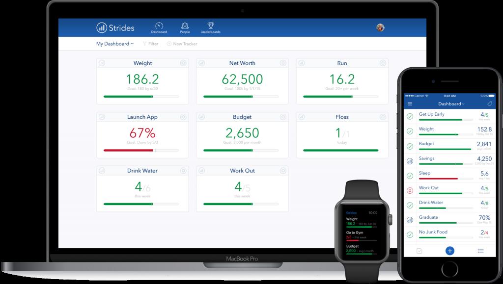strides habit tracking app