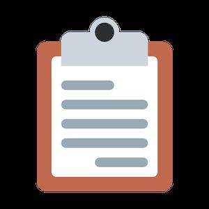 checklist emoji