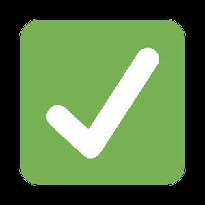 checkmark emoji