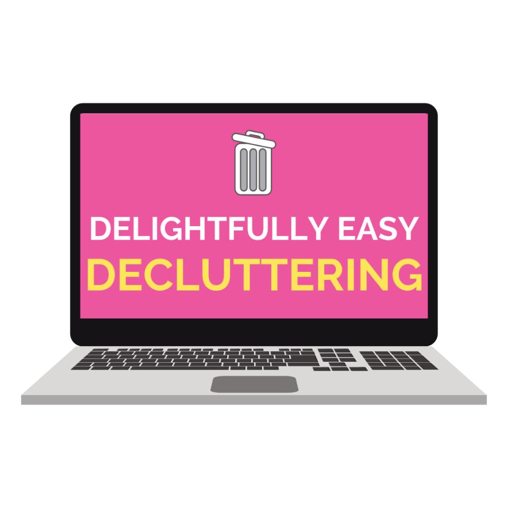 delightfully easy decluttering challenge