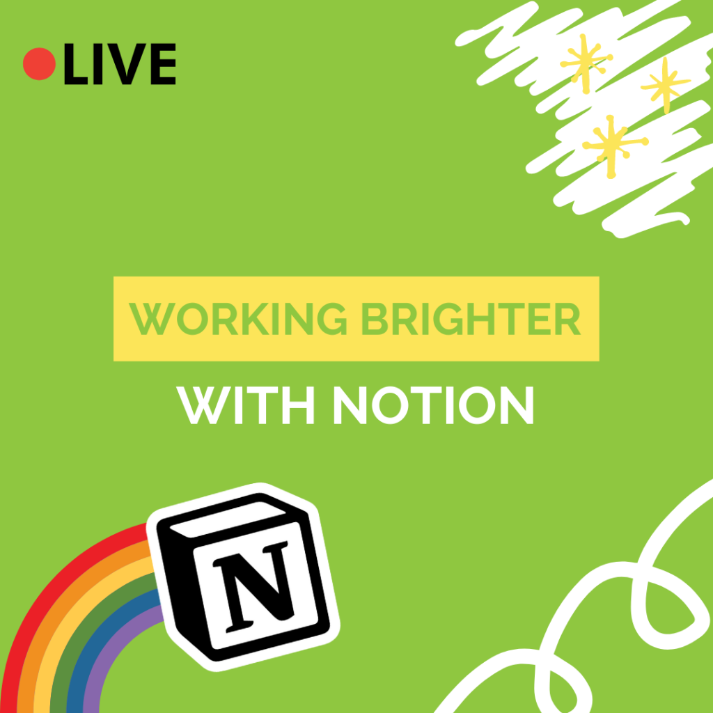 working brighter with notion live hangout