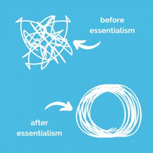 before essentialism vs after essentialism